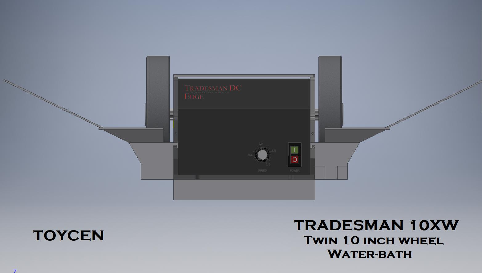 Tradesman x10 Water-bath wheels